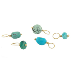 HEATHER B. MOORE December Turquoise Birthstone Charms