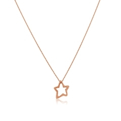HEATHER B. MOORE Free Hanging Star Outline Charm