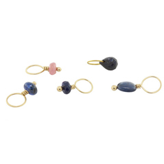 HEATHER B. MOORE September Sapphire Birthstone Charms