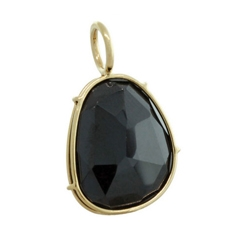 HEATHER MOORE 14K Yellow Gold Spinel Harriet Charm
