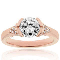 Heavenly Diamond Engagement Ring