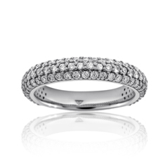 Heavenly Diamond Wedding Band