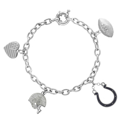 HONORA Colts Charm Bracelet