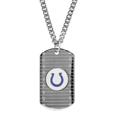 HONORA Colts Horseshoe Dog Tag