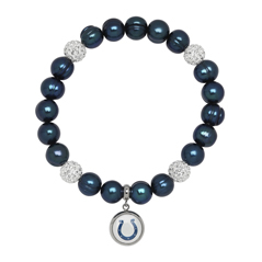 HONORA Colts Pearl & Crystal Bead Bracelet