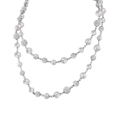 Honora Pearl & Crystal Bead Necklace