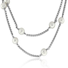 HONORA Pearl Tincup Necklace