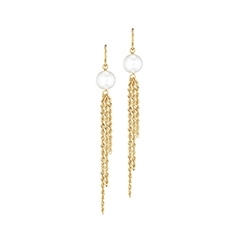 HONORA Tassel Pearl Earrings