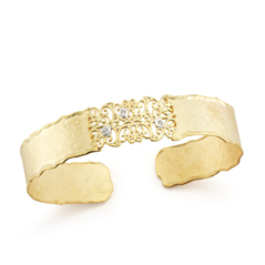 I. REISS Filigree Diamond Cuff
