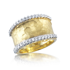 I. REISS Gallery Diamond Ring