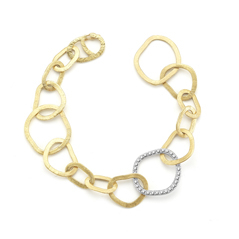 I. REISS Open Link Diamond Bracelet