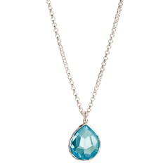 IPPOLITA Rock Candy Blue Topaz Necklace