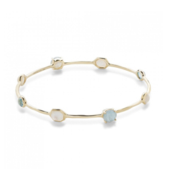 IPPOLITA Rock Candy Bnagle in Raindrop
