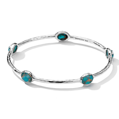 IPPOLITA Rock Candy Bronze Turquoise Bangle