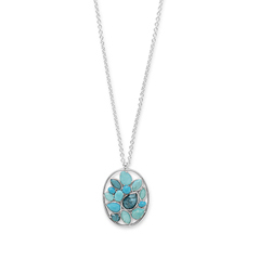 IPPOLITA Rock Candy Cluster Pendant in Turqam