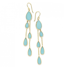 IPPOLITA Rock Candy Earrings in Turquoise