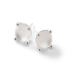 IPPOLITA Rock Candy Mini Stud Mother-of-Pearl Earrings