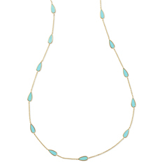 IPPOLITA Rock Candy Pear-Shaped Necklace in Turquoise