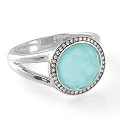 IPPOLITA Stella Turquoise Doublet Ring