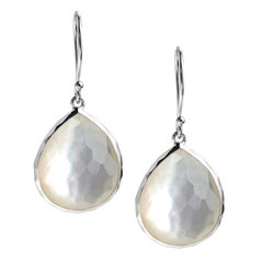 IPPOLITA Sterling Silver Rock Candy Teardrop Earrings in Mother-of-Pearl