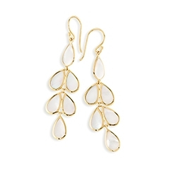 IPPOLITA Teardrop Cascade Earrings in Mother-of-Pearl