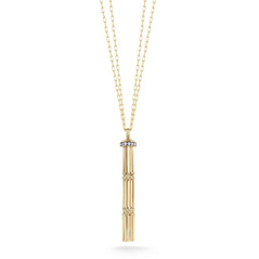 JADE TRAU Fair Tassel Diamond Pendant