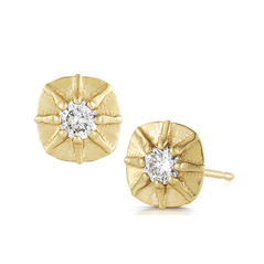 JADE TRAU Touchstone Mini Diamond Stud Earrings