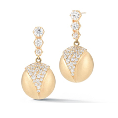 JADE TRAU Victoria Diamond Earrings