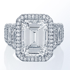 JB STAR Complete 10.59 Carat Diamond Engagement Ring