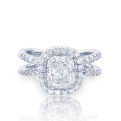 JB STAR Complete 2.08 Diamond Engagement Ring