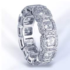 J.B. STAR Diamond Eternity Band