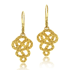 JOHN HARDY Classic Chain Braided Drop Earrings