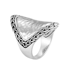 JOHN HARDY Classic Chain Saddle Ring