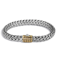 JOHN HARDY Classic Chain Two Toned Bracelet