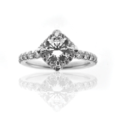 KATHARINE JAMES Juliet's Love Diamond Engagement Ring