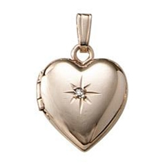 Kids Heart Locket Pendant