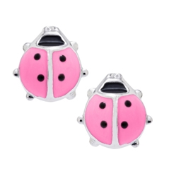 Kids Ladybug Earrings