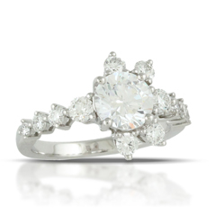 Little Bird Collection Diamond Engagement Ring