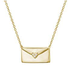 Love Letter Envelope Necklace