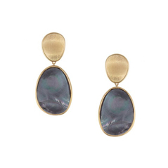 MARCO BICEGO Lunaria Black Mother-of-Pearl Earrings
