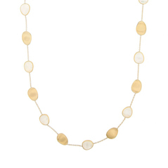 MARCO BICEGO Lunaria Mother-of-Pearl Necklace