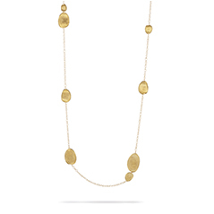 MARCO BICEGO Lunaria Station Necklace