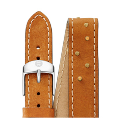 MICHELE Saddle Topaz Double Wrap 16mm Watch Strap