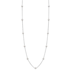 MIKIMOTO Tin Cup Akoya Pearl Necklace