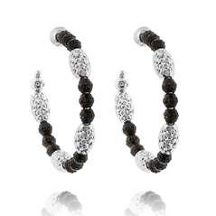 OFFICINA BERNARDI Gothic Mars Hoop Earrings