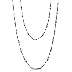 OFFICINA BERNARDI Oval Station Necklace