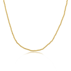 OFFICINA BERNARDI Silver & Yellow Gold Beaded Necklace