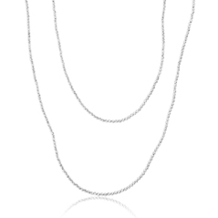 OFFICINA BERNARDI Silver Beaded Necklace