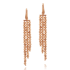 OFFICINA BERNARDI Three Row Beaded Earrings
