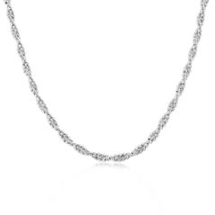 OFFICINA BERNARDI Two Row Twisted Beaded Necklace